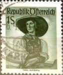 Sellos de Europa - Austria -  Intercambio 0,20 usd 1 s. 1951