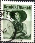 Stamps Austria -  Intercambio 0,20 usd 1 s. 1951