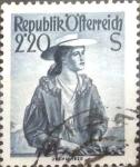 Sellos de Europa - Austria -  Intercambio 0,20 usd 2,20 s. 1952