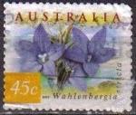 Sellos de Oceania - Australia -  AUSTRALIA 1999 Scott 1737 Sello Flores Flowers Wahlenbergia Stricta usado Michel 1808