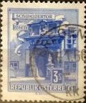 Stamps Austria -  Intercambio 0,20 usd 3 s. 1962