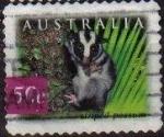Stamps : Oceania : Australia :  AUSTRALIA 2003 Scott 2161 Sello Fauna Animales Striped Possum usado Michel 2239