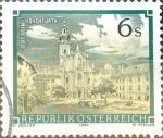 Sellos de Europa - Austria -  Intercambio 0,20 usd 6 s. 1984