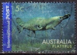 Stamps : Oceania : Australia :  AUSTRALIA 2006 SELLO ANIMALES ORNITORRINCO