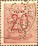 Stamps Belgium -  Intercambio 0,20 usd 20 cents. 1951