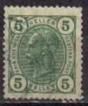 Stamps Europe - Austria -  AUSTRIA 1905 SELLO SERIE BASICA KAISER KOENIC