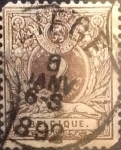 Sellos de Europa - Bélgica -  Intercambio 1,50 usd 2 cents. 1888