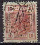 Sellos de Europa - Austria -  AUSTRIA 1906 Scott 92 Sello Personajes Kaiser Koenic usado Michel 134 Osterreich Autriche