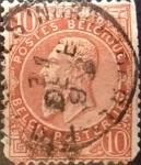 Sellos de Europa - Bélgica -  Intercambio 0,30 usd  10 cents. 1893
