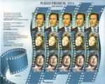 Sellos de Europa - España -  PLIEGO PREMIUN 2014, Cine Español