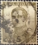 Sellos de Europa - Bélgica -  Intercambio 0,40 usd 20 cents. 1913