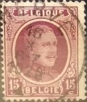 Stamps : Europe : Belgium :  Intercambio 0,20 usd 15 cents. 1923
