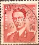 Stamps : Europe : Belgium :  Intercambio 0,20 usd 2 francos 1953