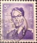 Sellos de Europa - Bélgica -  Intercambio 0,20 usd 5 francos 1957