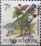 Sellos de Europa - Bélgica -  Intercambio 0,20 usd 7 francos 1987