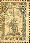Sellos de Europa - Bélgica -  Intercambio 0,35 usd 25 cents. 1919