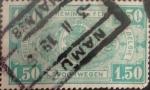 Sellos de Europa - Bélgica -  Intercambio 0,30 usd 1,50 francos 1923