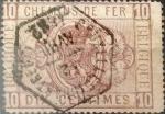 Sellos de Europa - Bélgica -  Intercambio 5,75 usd 10 cents. 1879