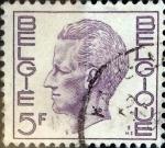 Sellos de Europa - Bélgica -  Intercambio 0,20 usd 5 francos 1972