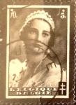 Sellos de Europa - Bélgica -  Intercambio 0,20 usd 70+5 cents. 1935