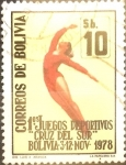Sellos de America - Bolivia -  Intercambio nfxb 0,35 usd  10 bolivares 1979