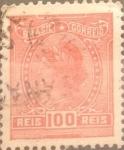 Sellos del Mundo : America : Brasil : Intercambio 0,25 usd  100 r. 1918
