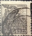 Sellos de America - Brasil -  Intercambio 0,20 usd  2 cr. 1947