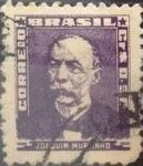 Sellos del Mundo : America : Brasil : Intercambio 0,20 usd  0,50 cr. 1954