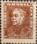 Stamps : America : Brazil :  Intercambio 0,20 usd  1 cr. 1954