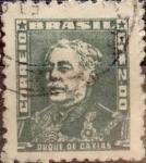 Sellos de America - Brasil -  Intercambio 0,20 usd  2 cr. 1954