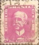 Sellos de America - Brasil -  Intercambio 0,20 usd  5 cr. 1956