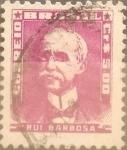 Stamps : America : Brazil :  Intercambio 0,20 usd  5 cr. 1956