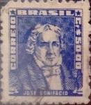 Stamps : America : Brazil :  Intercambio 0,20 usd  50 cr. 1959