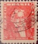 Stamps : America : Brazil :  Intercambio 0,20 usd  20 cr. 1959