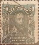 Stamps : America : Brazil :  Intercambio 0,20 usd  50 r.  1906