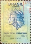 Sellos de America - Brasil -  Intercambio 1,50 usd  178,70 cr. 1993
