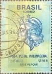 Stamps : America : Brazil :  Intercambio 1,50 usd  178,70 cr. 1993