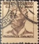 Sellos de America - Brasil -  Intercambio 0,75 usd  20 cr. 1947