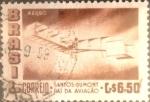 Stamps : America : Brazil :  Intercambio 0,20 usd  6,50 cr. 1956