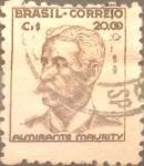 Stamps : America : Brazil :  Intercambio 0,75 usd  20 cr. 1947