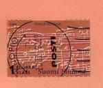 Stamps : Europe : Finland :  Scott 1204. Pentagrama