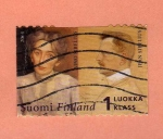 Stamps : Europe : Finland :  Scott 1204. Músico Sibelius.