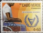 Stamps : Africa : Cape_Verde :  Intercambio 0,35 usd  4,50 escudos 1981