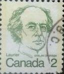 Stamps Canada -  Intercambio 0,20 usd 2 cents. 1973