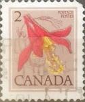 sello : America : Canadá : Intercambio nf4b 0,20 usd 2 cents. 1979