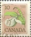 Sellos de America - Canadá -  Intercambio nf4b1 0,20 usd 10 cents. 1977