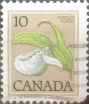 Stamps : America : Canada :  10 cents. 1979