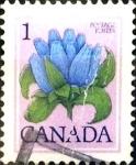 Sellos de America - Canadá -  Intercambio 0,20 usd 1 cents. 1979
