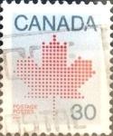 Stamps Canada -  Intercambio 0,20 usd 30 cents. 1982