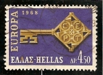 Stamps Greece -  Europa